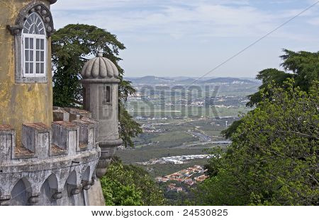 Sentry-box And Window From Pena Palace