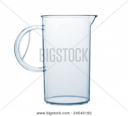 Measured Transparent Empty Glass