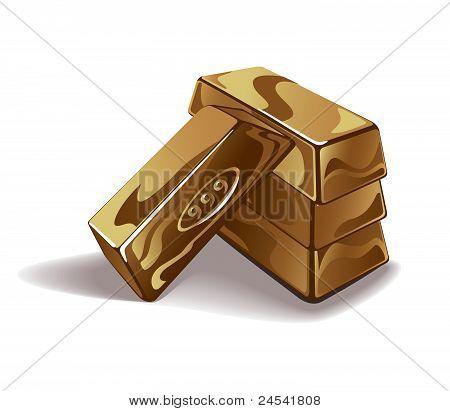 金条矢量图