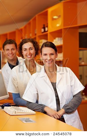 Three Friendly Pharmacists