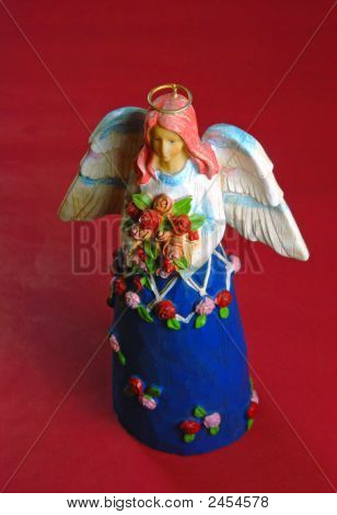 Beautiful Angel Woman