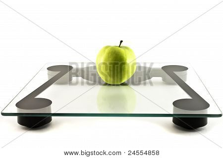 Scales And Apple