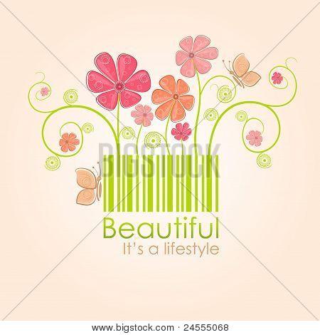 Beautiful nature style