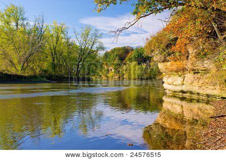 Autumn, Rock River