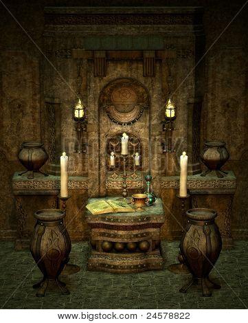 O Altar misterioso