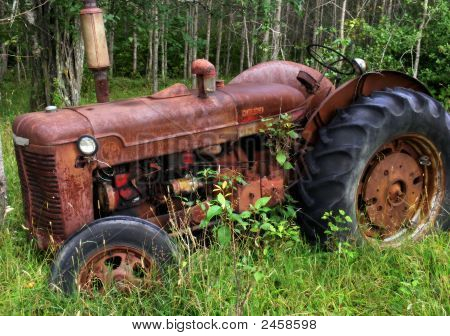 Worn Tractor