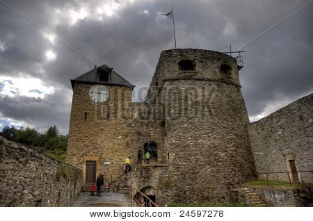 Bouillon  Medieval Castle In Belgium