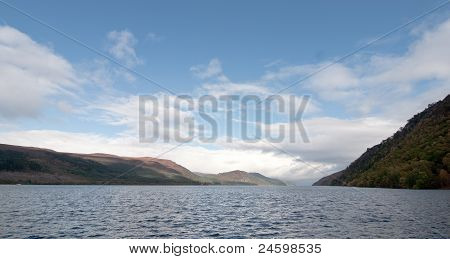 Beautiful View Of The Loch Ness At Water Level