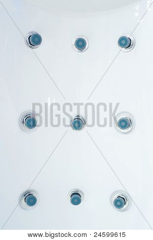 Whirlpool Jets On Shower Panel