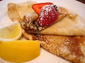 Lemon & Sugar Crepe