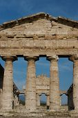 stock photo of ceres  - Greek temples - JPG