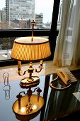 Antique Lamp In Office