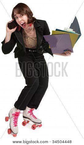 Energetic Female Professional