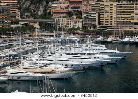 Luxury Yachts In Monaco