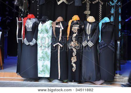 Abaya Market In Arabic City