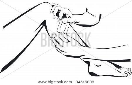 slice and leg