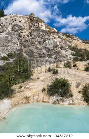 Natural thermal baths