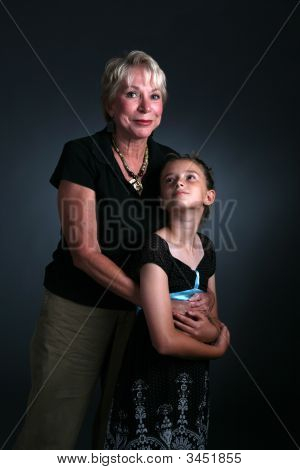 Woman And Granddaughter
