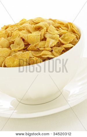 delicious and healthy cornflakes