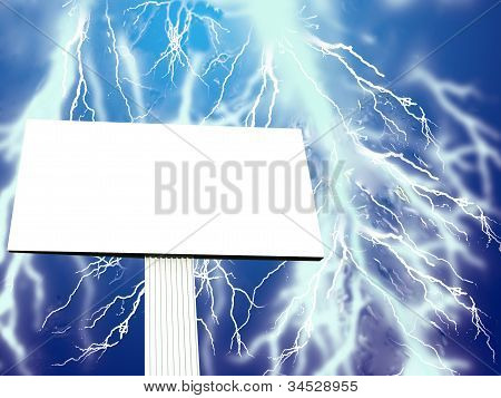 Açambarcamento de propaganda contra a tempestade