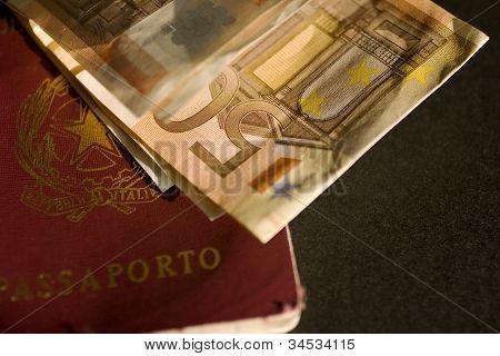 Euro und Reisepass