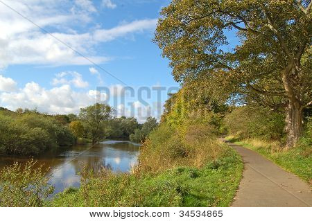 River Clyde, Baron's Haugh nature reserve, Motherwell