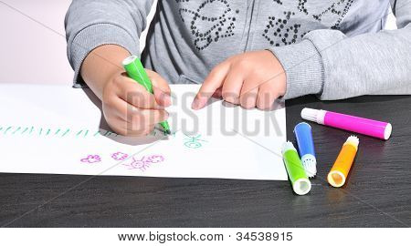 Child Drawing.