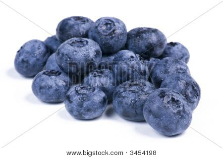 Blueberries In A Group