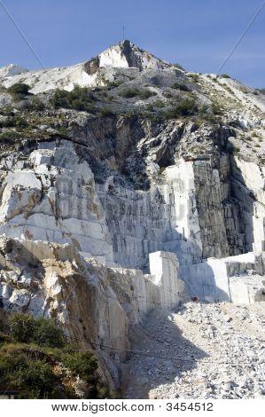 White Marble In Carrara