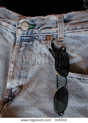 Dscn1035 Sunglasses In Jeans Pocket