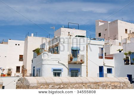 Glimpse Of Peniscola, Spain
