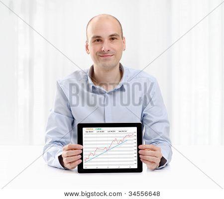 Stock Exchange Businessman