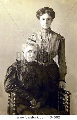 Mother And Daughter  Pre-1905