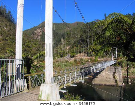 Swiss Bridge In New Zealand