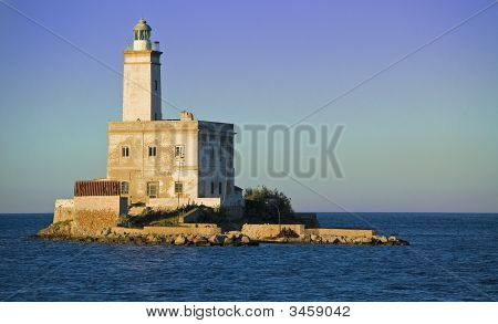 Lighthouse In  Olbia