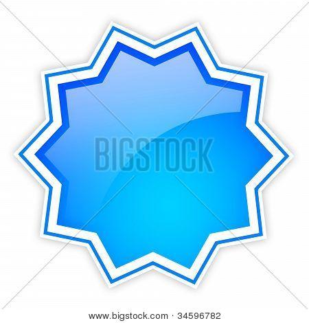 Blank shiny star icon