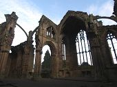 Melrose Abbey Architecture poster