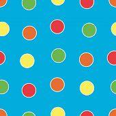 Постер, плакат: Яркие горошек