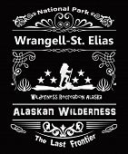 Wrangell St. Elias National Park In Alaska.  Part Of The Alaskan Wilderness, The Last Frontier With  poster