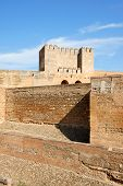 The Alcazaba In Granada, Spain