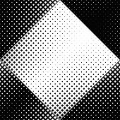 Geometrical Square Pattern Background Design - Abstract Vector Graphic From Diagonal Squares poster