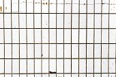 Abstract Background Old Cracked Ceramic Tile. Old Tiles Wallpaper. poster