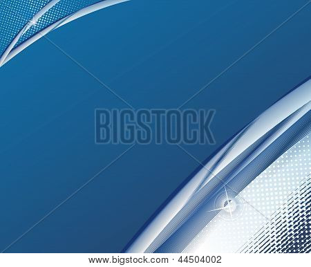 Abstract Background Blue Business Fantasy