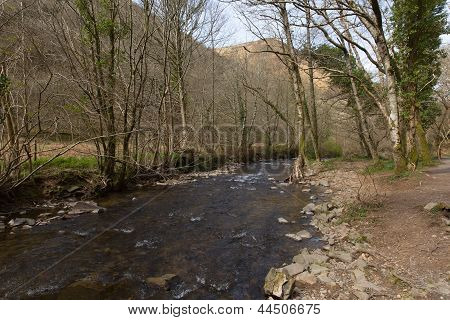 Heddon River Valley Exmoor