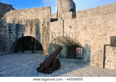 Cannon In The Fortress