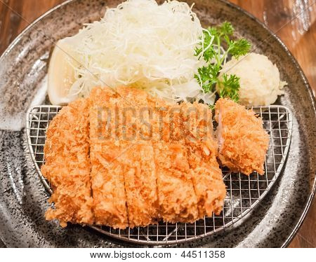 Tonkatsu, Japanese Style Fried Pork
