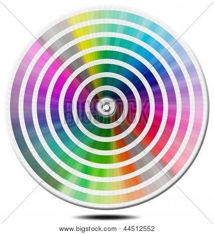 Pantone Color Palette - Blur Circle