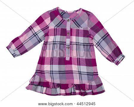 Baby Checkered Dress