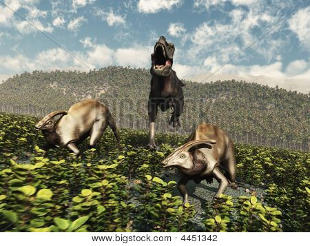 Tarbosaurus Rampage