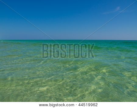 more pure emerald water Gulf of Mexico